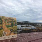 Graisse-Graissou à Rimouski, sur le bord du Fleuve, à marée basse.