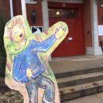 Graisse-Graissou visite les groupes scolaires de  l'École primaire Ormstown à Ormstown en Montérégie.
