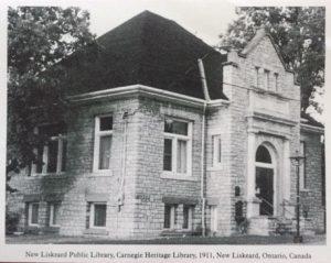 Bibliothèque de New Liskeard, dans le Témiscamingue ontarien.