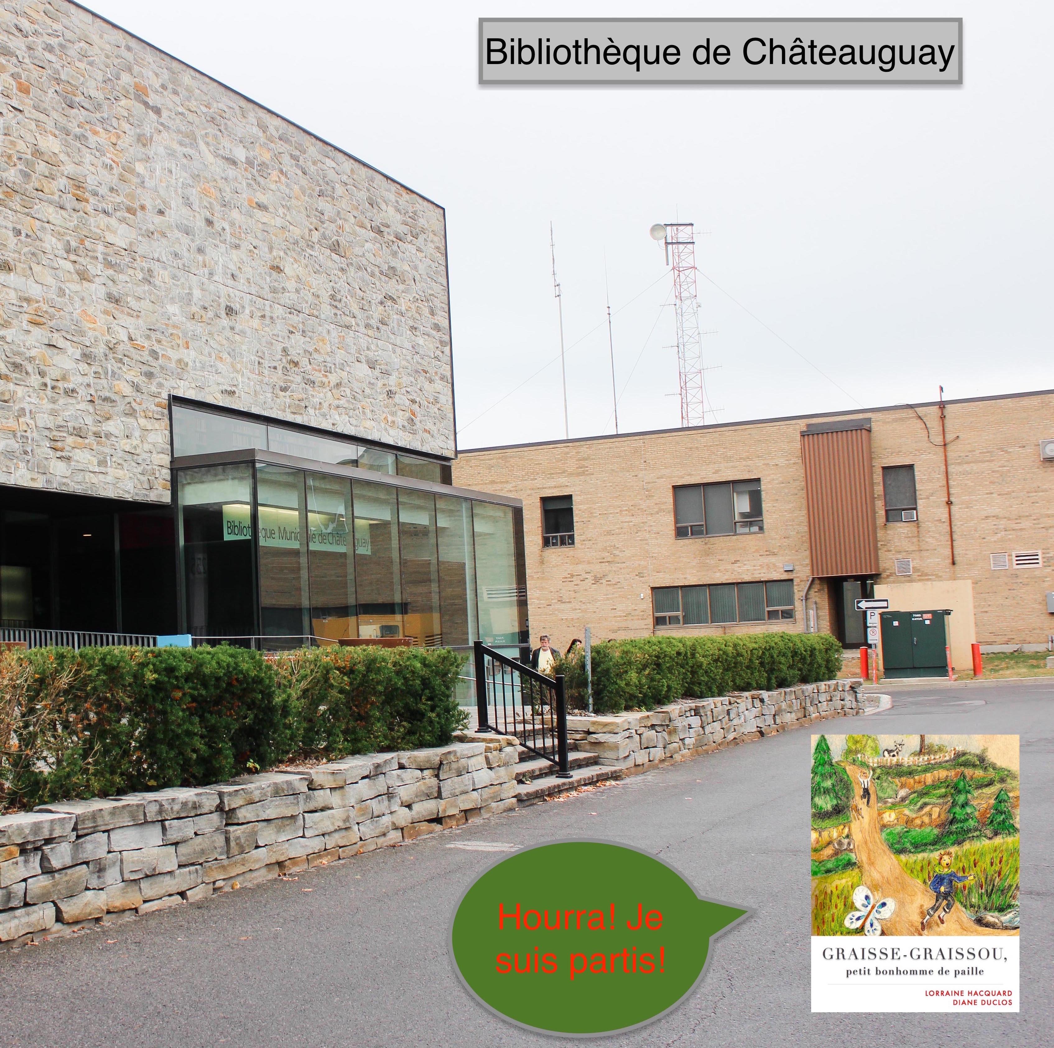 Graisse-Graissou se sauve de Châteauguay!  Octobre 2016