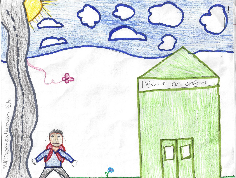 À L'ÉCOLE, histoire de Bianca Vachon -  Graisse-Graissou va l'école mais il a un problème d'intimidation...