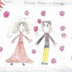 GRAISSE-GRAISSOU A GRANDI, histoire de Caroline -  Graisse-Graissou se trouve une amie et veut se marier; mais il rencontre la vieille sorcière qui lui veut encore du mal comme autrefois...