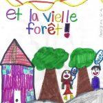 LA VIEILLE FORÊT, histoire de Georgina -  Graisse-Graissou est le monstre de la forêt où vont trois enfants...